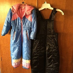 Jackets & Coats - Both Snow suits Sold
